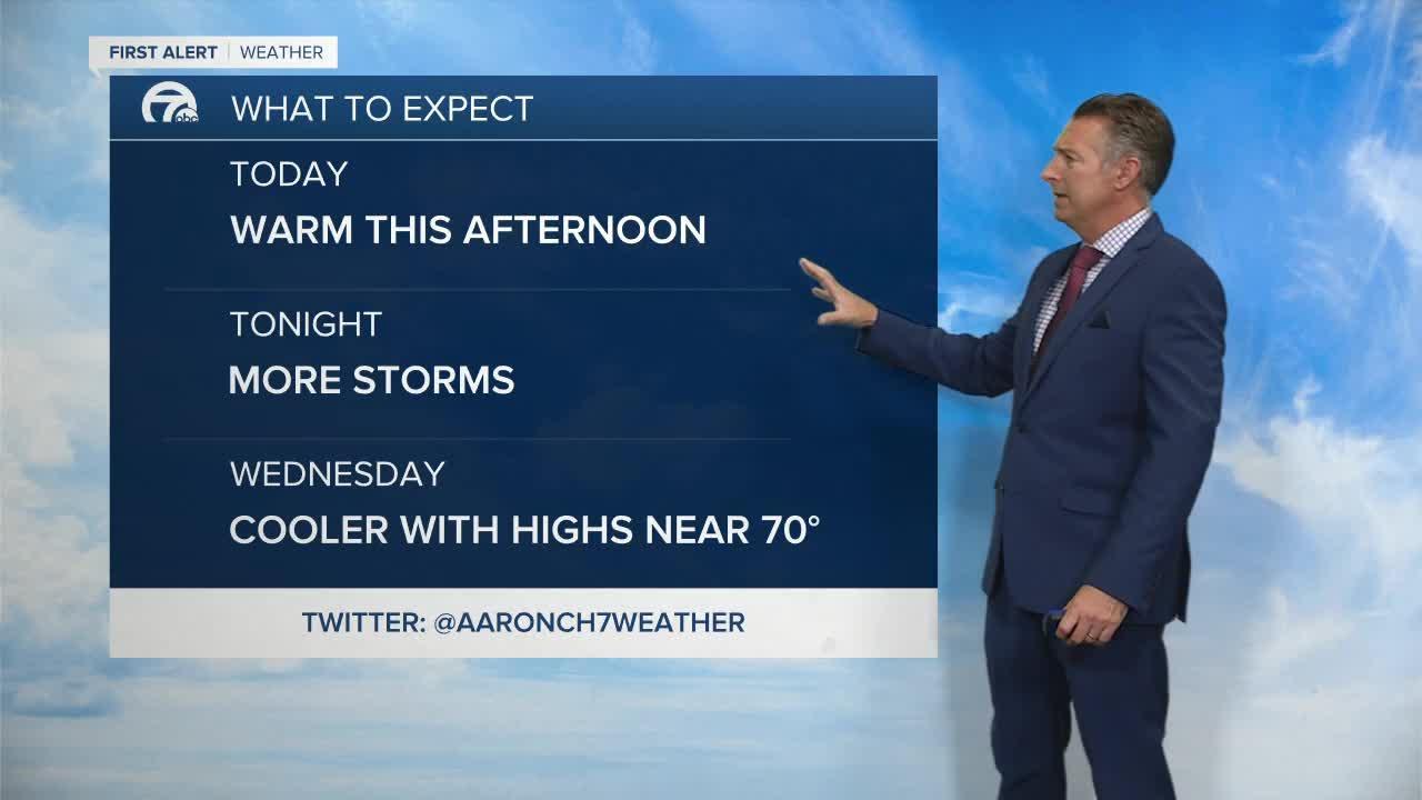 7 First Alert Forecast 5am Update, Tuesday, September 14