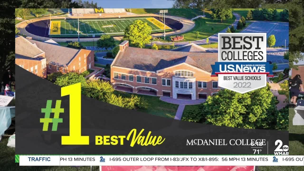 McDaniel college says, 'Good Morning Maryland!'