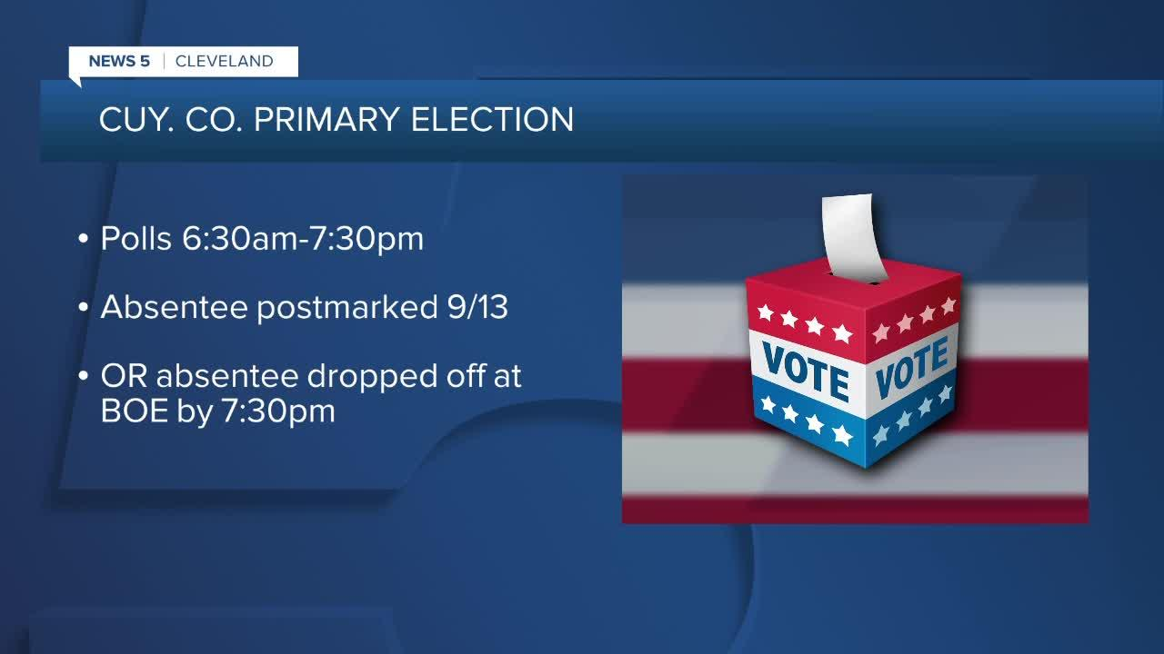 2021 Primary Election Day in Cuyahoga County