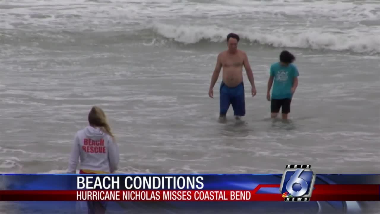 Choppy conditions still expected at Michael J. Ellis Beach