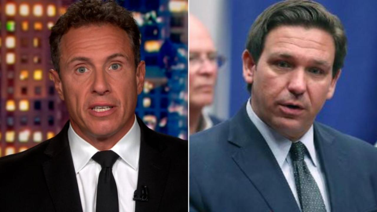 'DeSantis knows that's BS': Cuomo on misinformation at press event