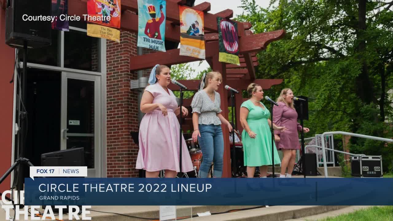 Circle Theatre announces 2022 show lineup!