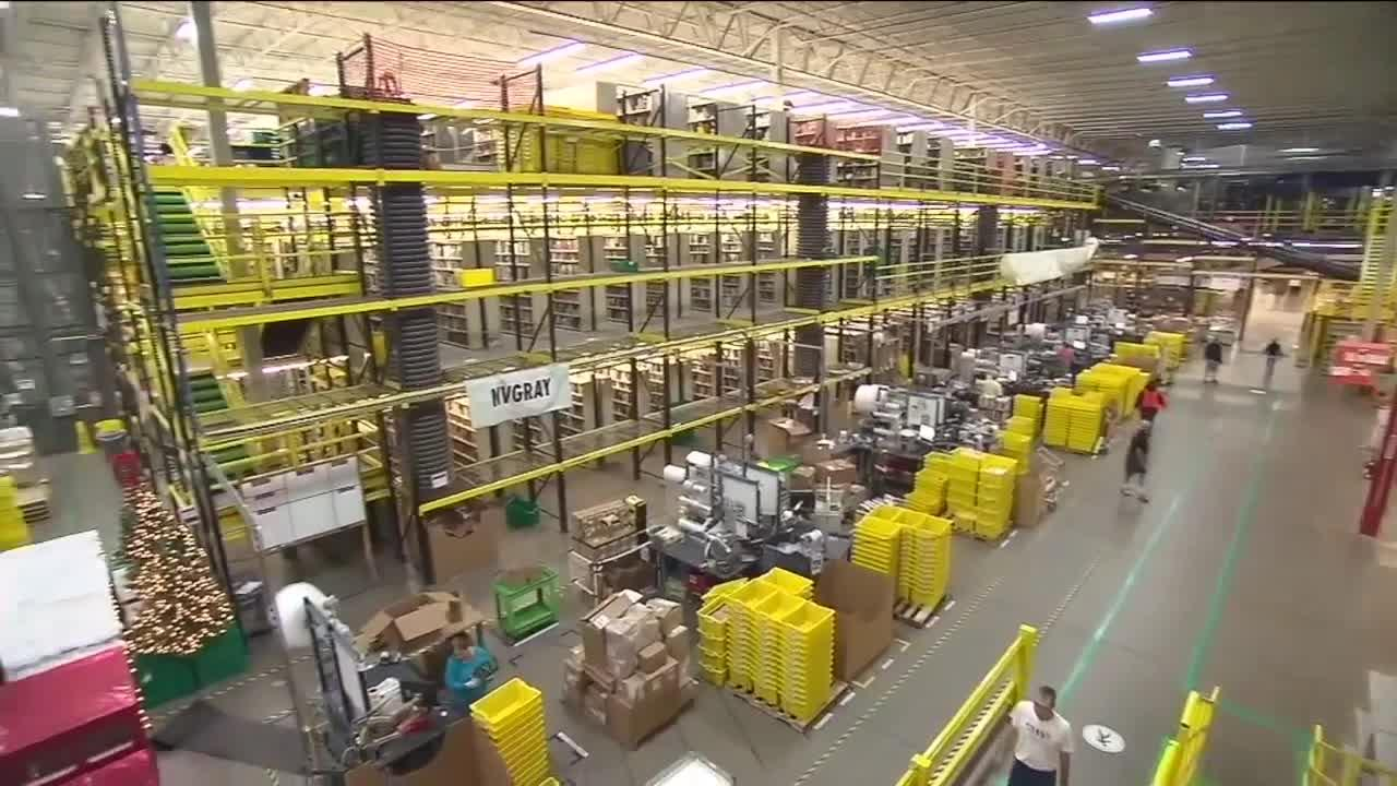 Amazon planning to hire more than 2,800 employees in Cleveland area and 9,000 across state of Ohio