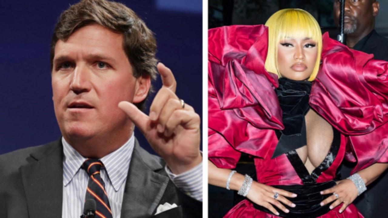 An Unlikely Pair: Nicki Minaj and Tucker Carlson Spread COVID Conspiracy