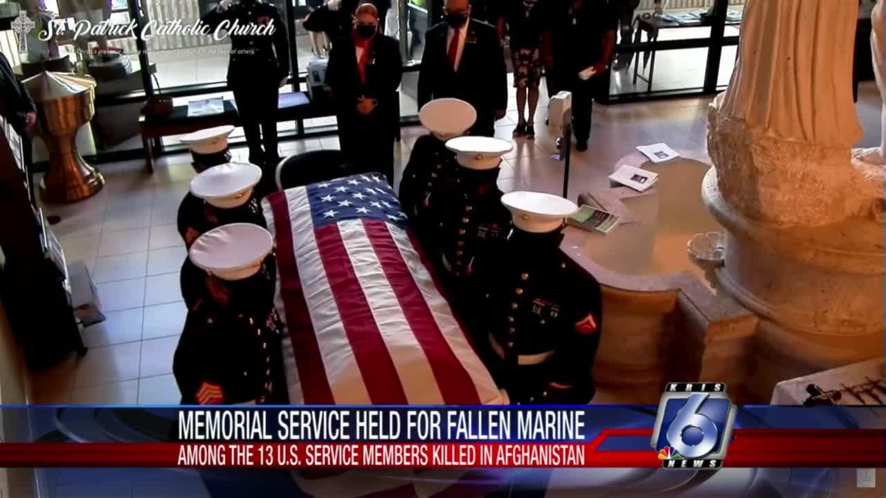 Marine David Lee Espinoza laid to rest in Laredo