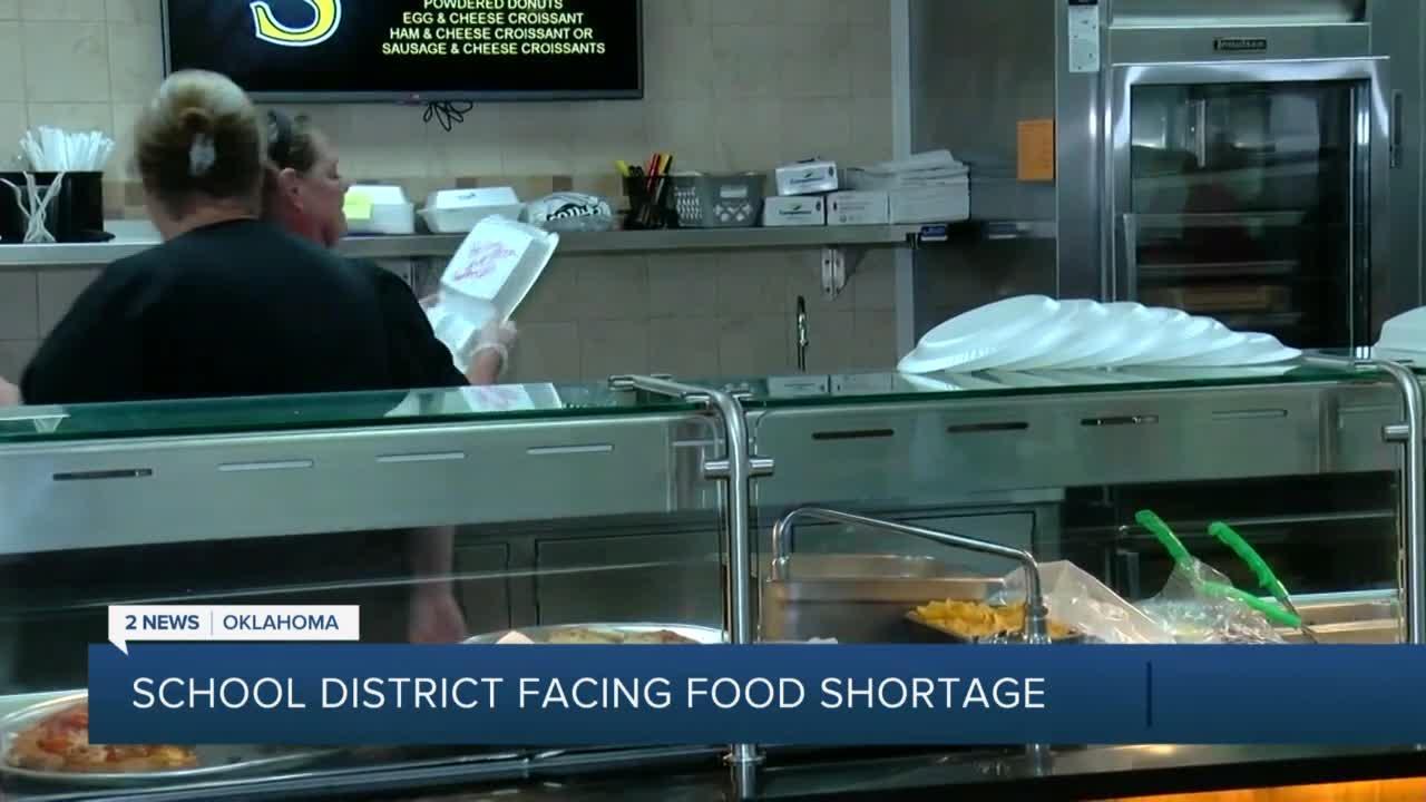 School Facing Food Shortage