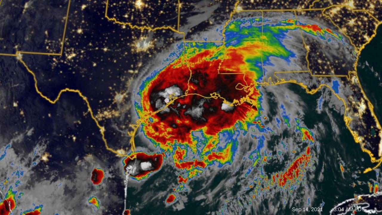 Hurricane Nicholas weakens to a tropical storm after making landfall