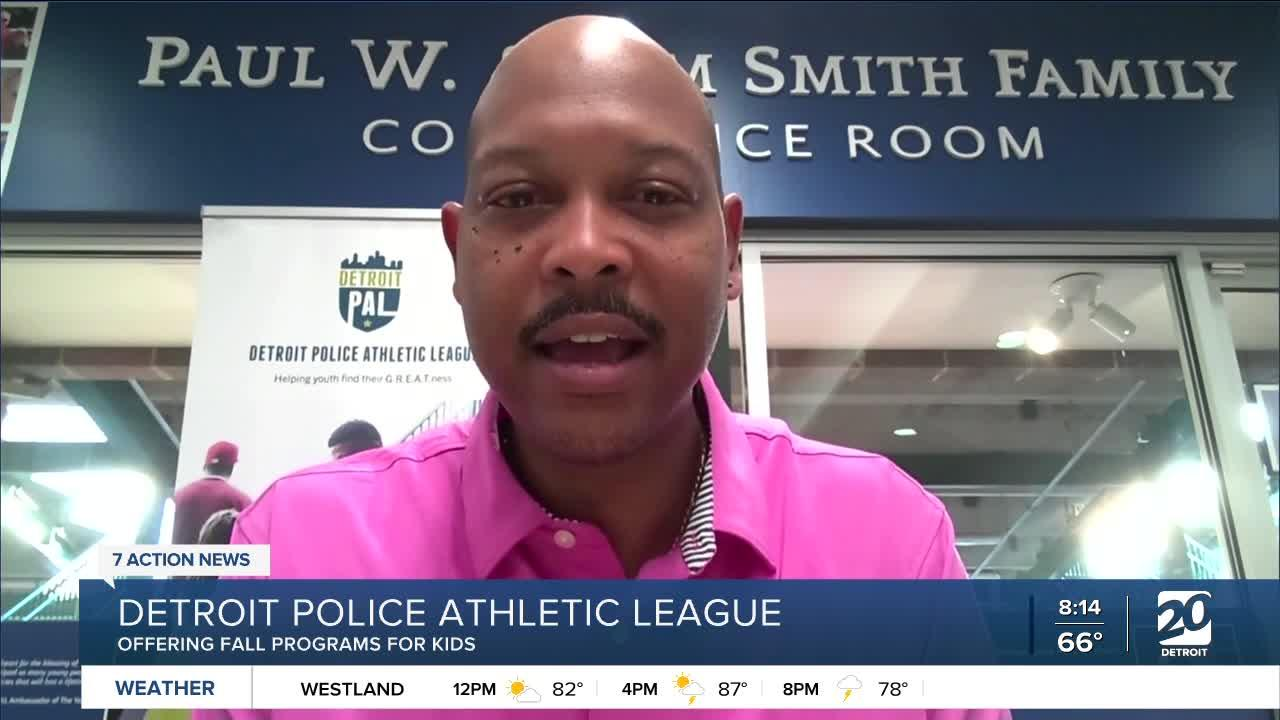 Detroit Police Athletic League offering fall programs for kids