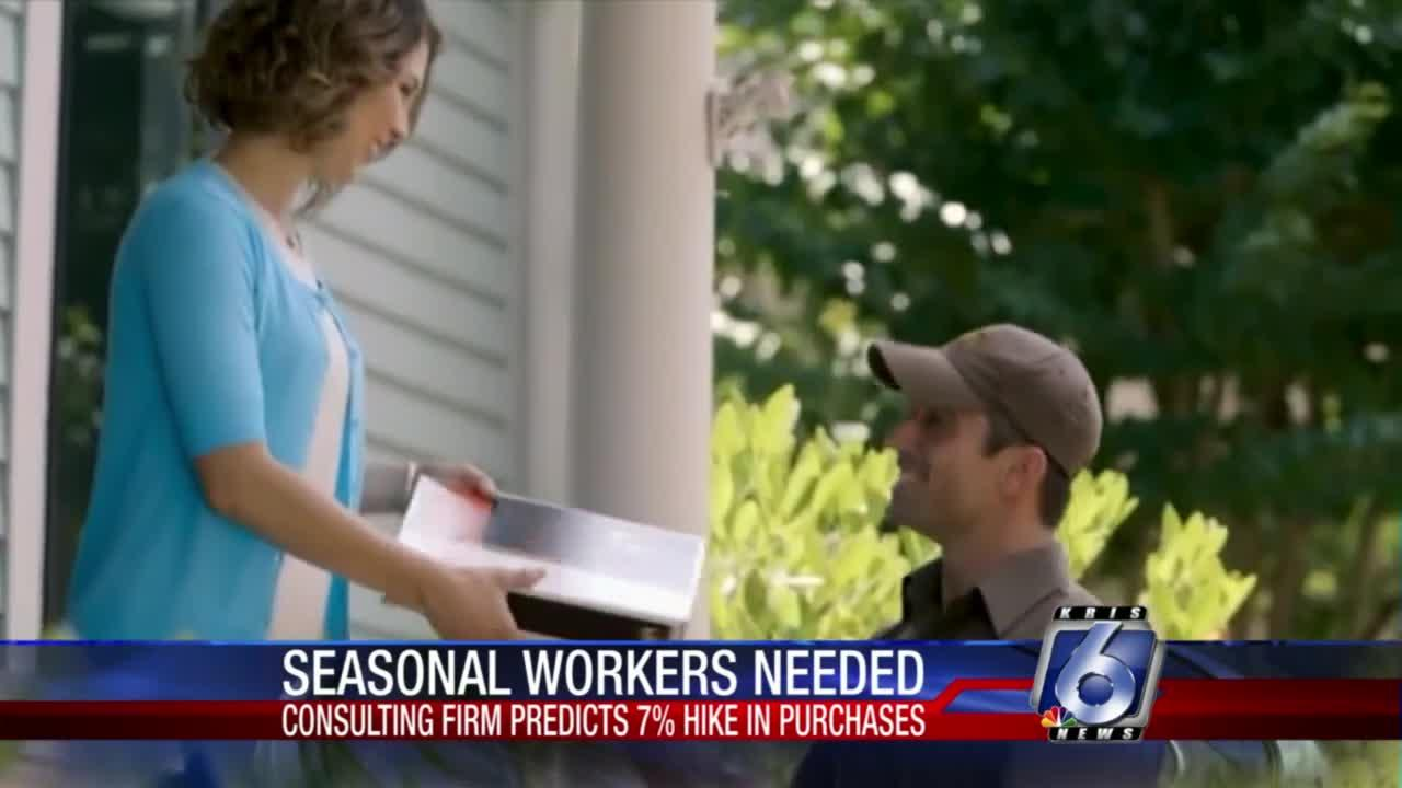 Firms seeking help for the holidays