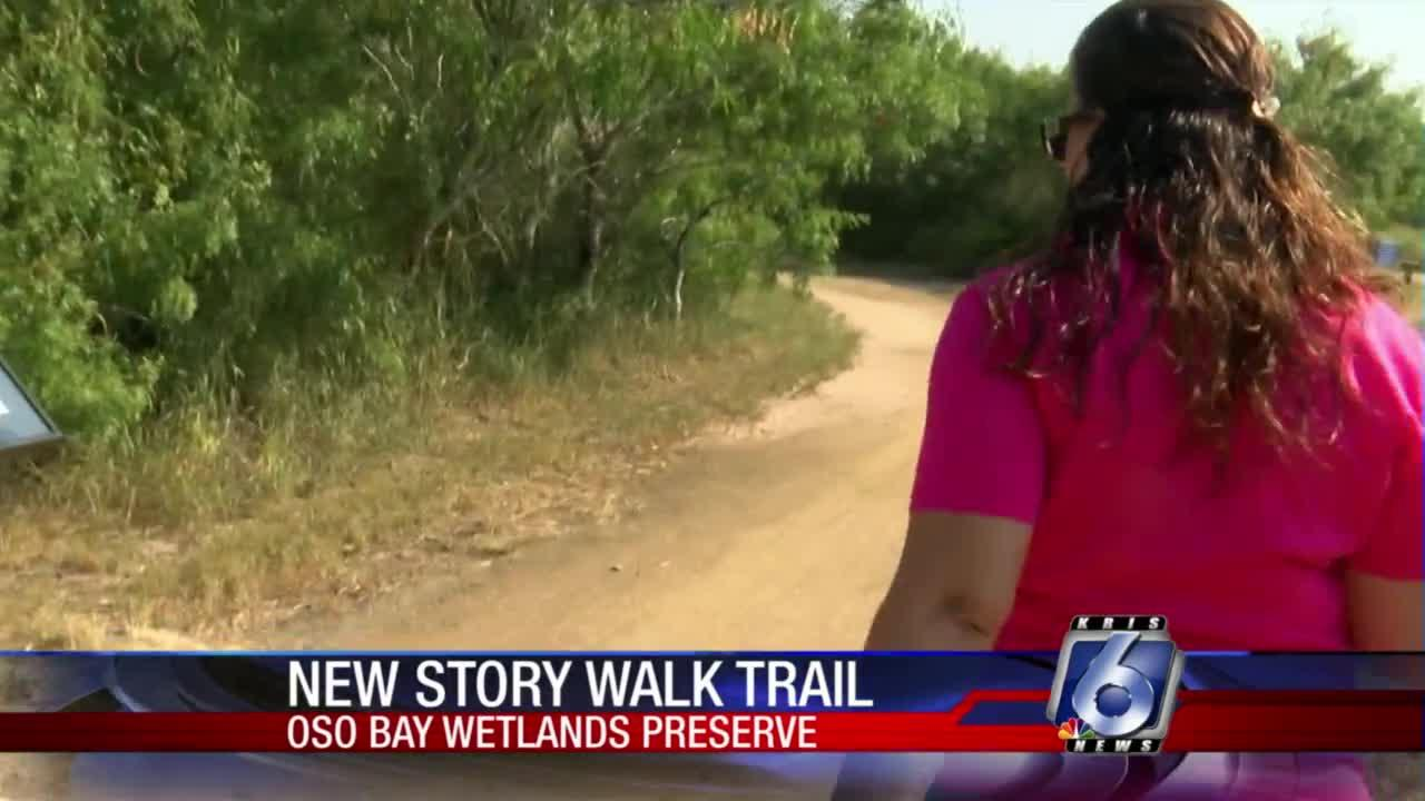 Story Walk trail at Oso Bay Wetlands Preserve offers a unique experience