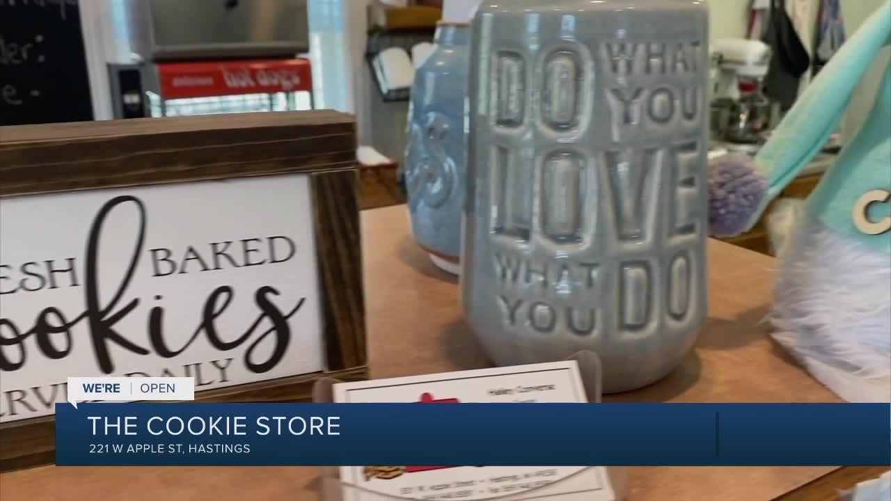 We're Open: Cookie Store for all things sweet