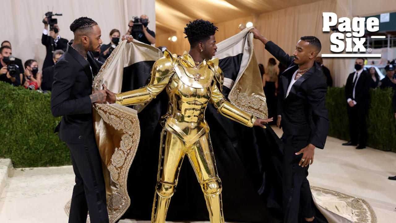 Lil Nas X wears three outfits at Met Gala