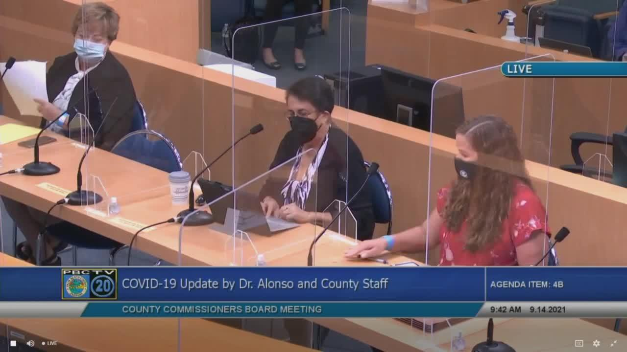 Palm Beach County's top health official gives update on COVID-19 cases, vaccinations