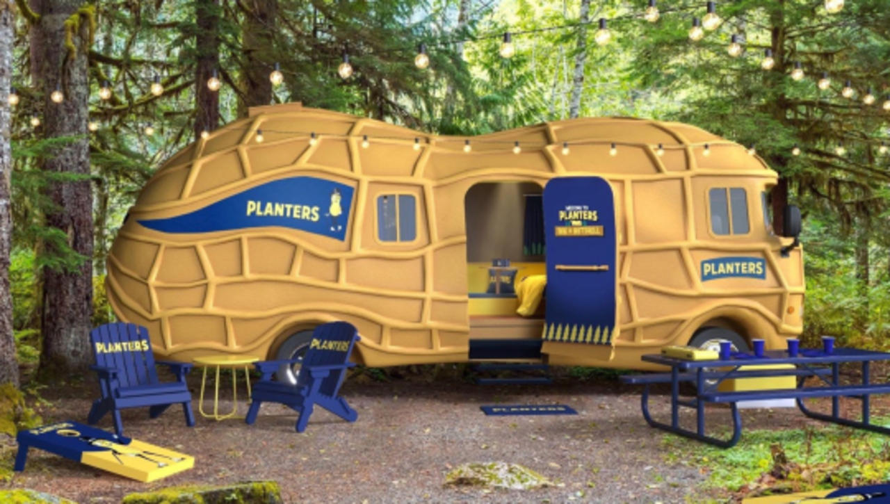 Don't Miss Your Chance to Sleep in a NUTmobile!