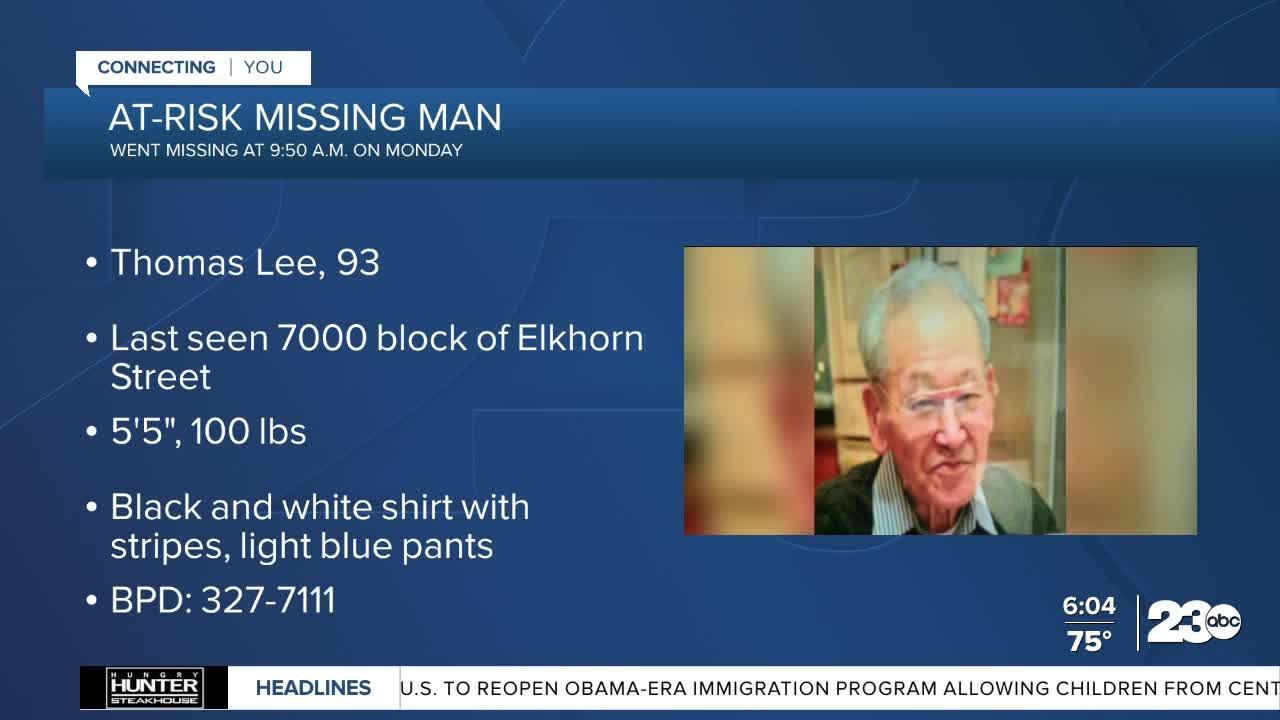 Bakersfield police seek help finding at-risk man