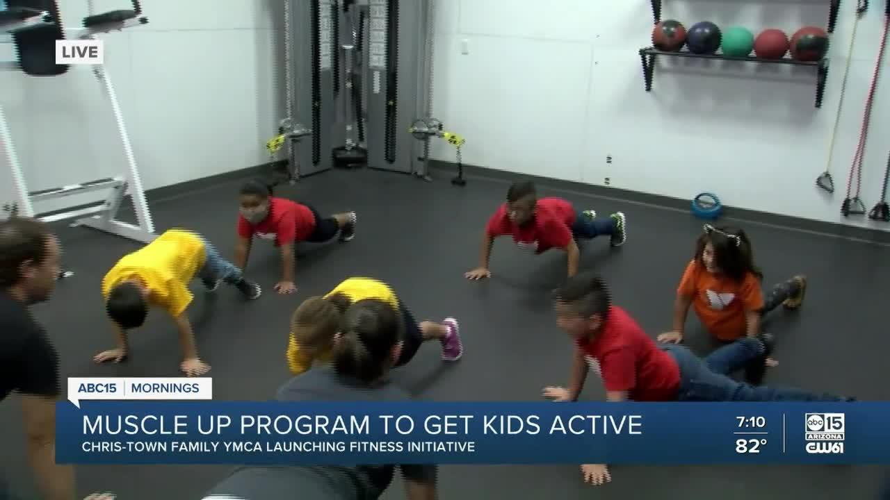 YMCA's 'Muscle Up' program gets kids moving