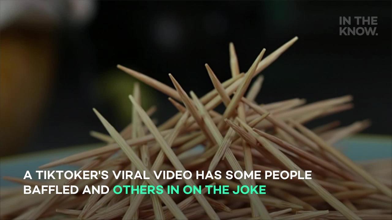Man stumps TikTok with toothpick challenge