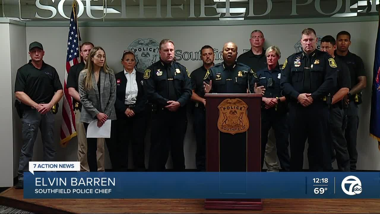 Families Against Narcotics event held at Southfield Police Department