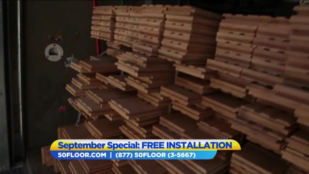 Enjoy September savings with 50 Floor