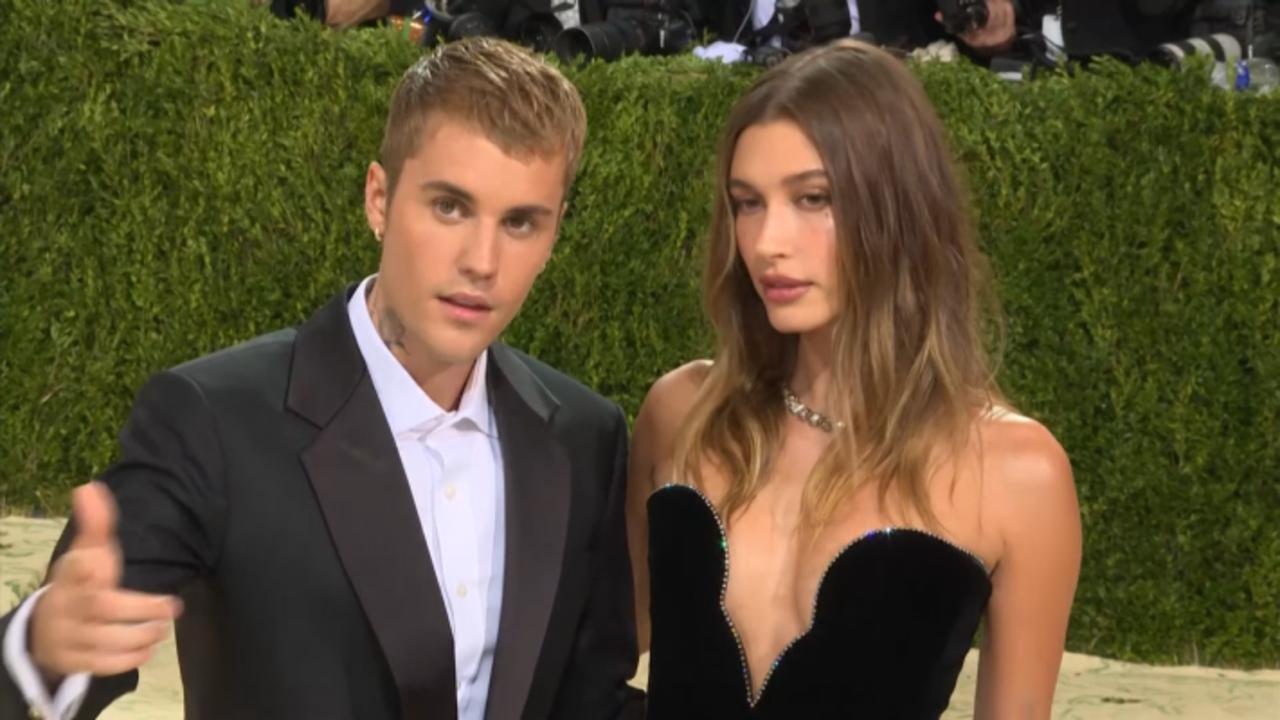 Justin & Hailey Bieber Make Their Mark At The 2021 Met Gala