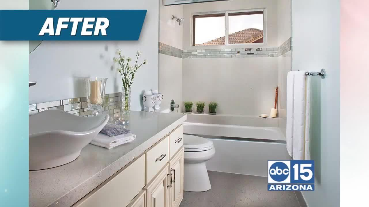 Let Granite Transformations of North Phoenix flush away your bathroom remodeling fears