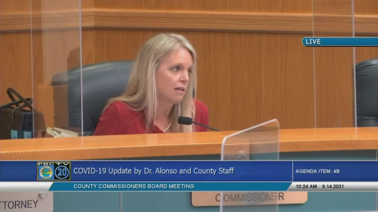 Palm Beach County Commissioner Melissa McKinlay talks COVID-19 vaccine