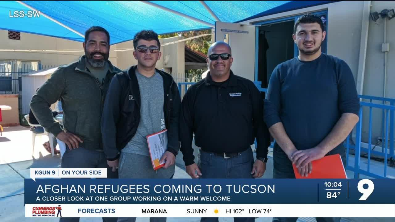 Behind the effort to help Afghan refugees feel at home in Tucson