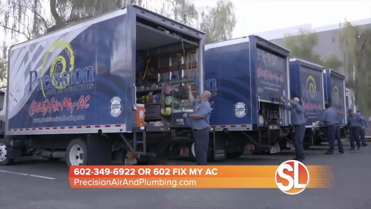 TIP: You can extend the life of your AC unit by calling Precision Air & Plumbing