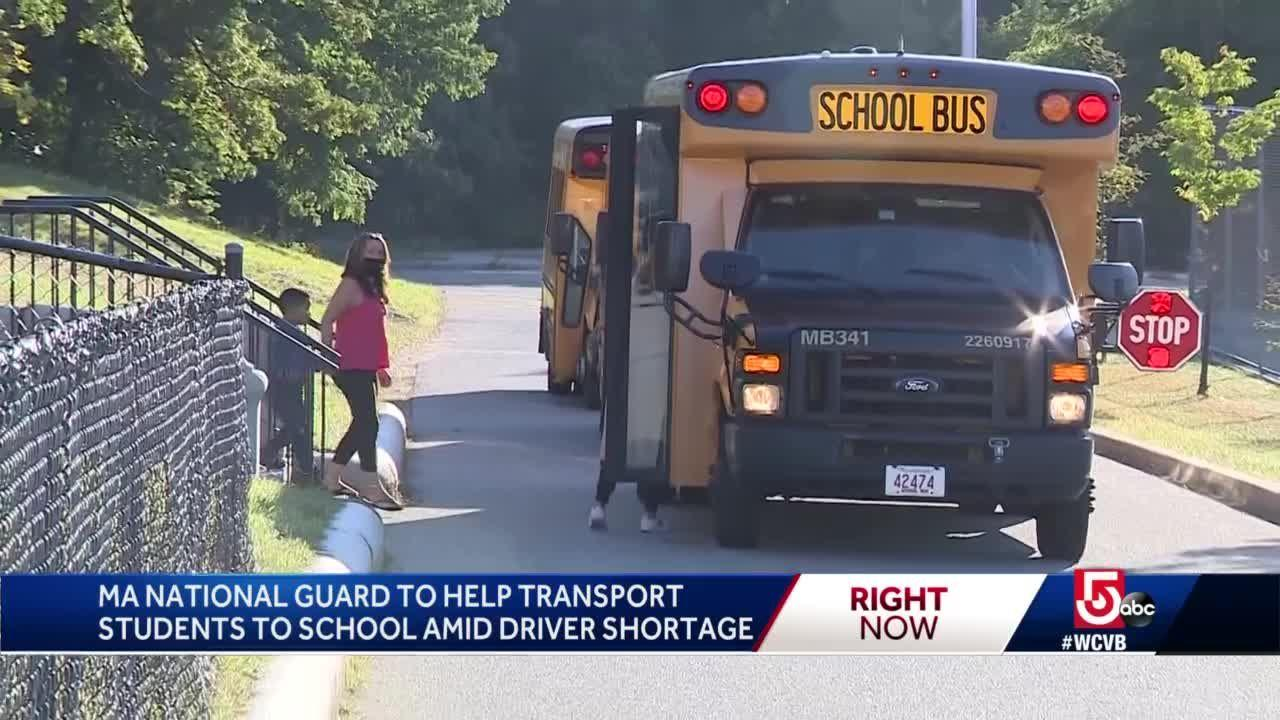 National Guard to help with school bus driver shortage