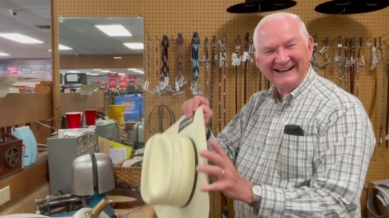 Motivational senior working right into his eighties