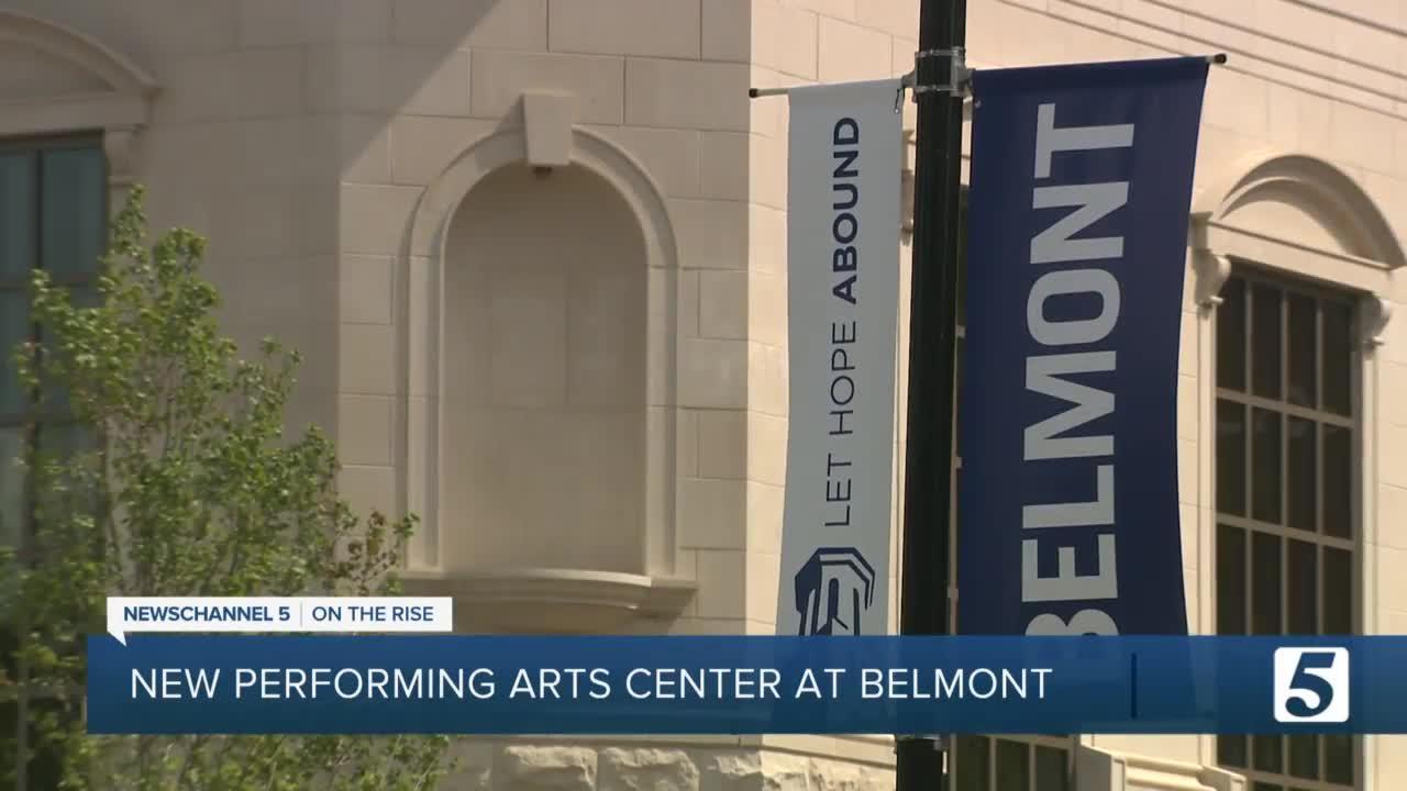 Belmont University celebrates new $180M performing arts center