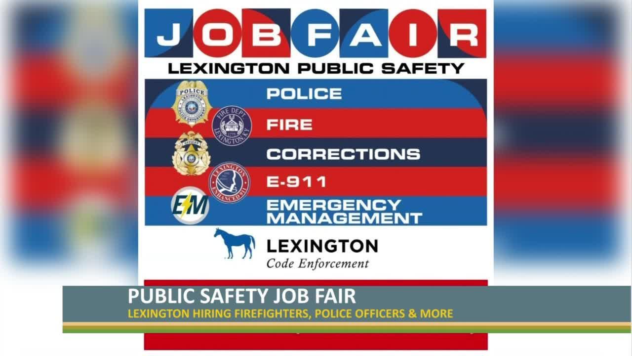Lexington Public Safety Job Fair