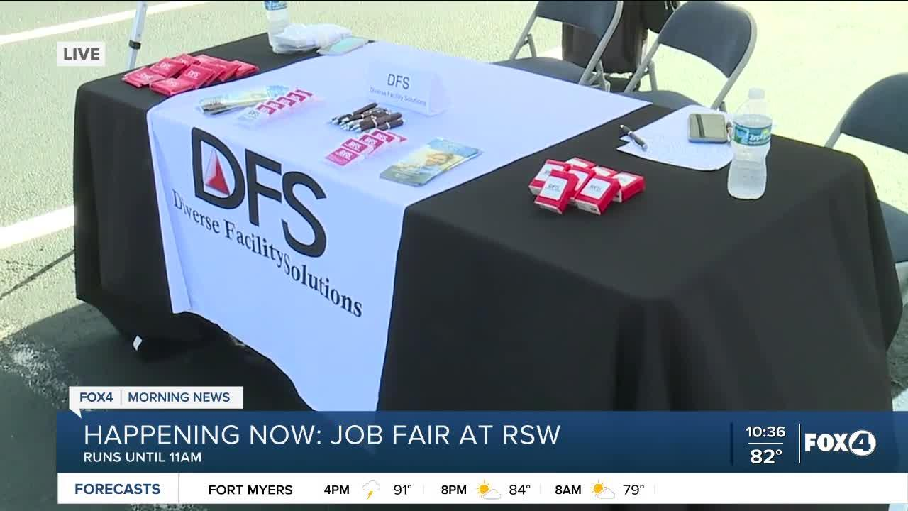 Lee County Port Authority hosts job fair at RSW