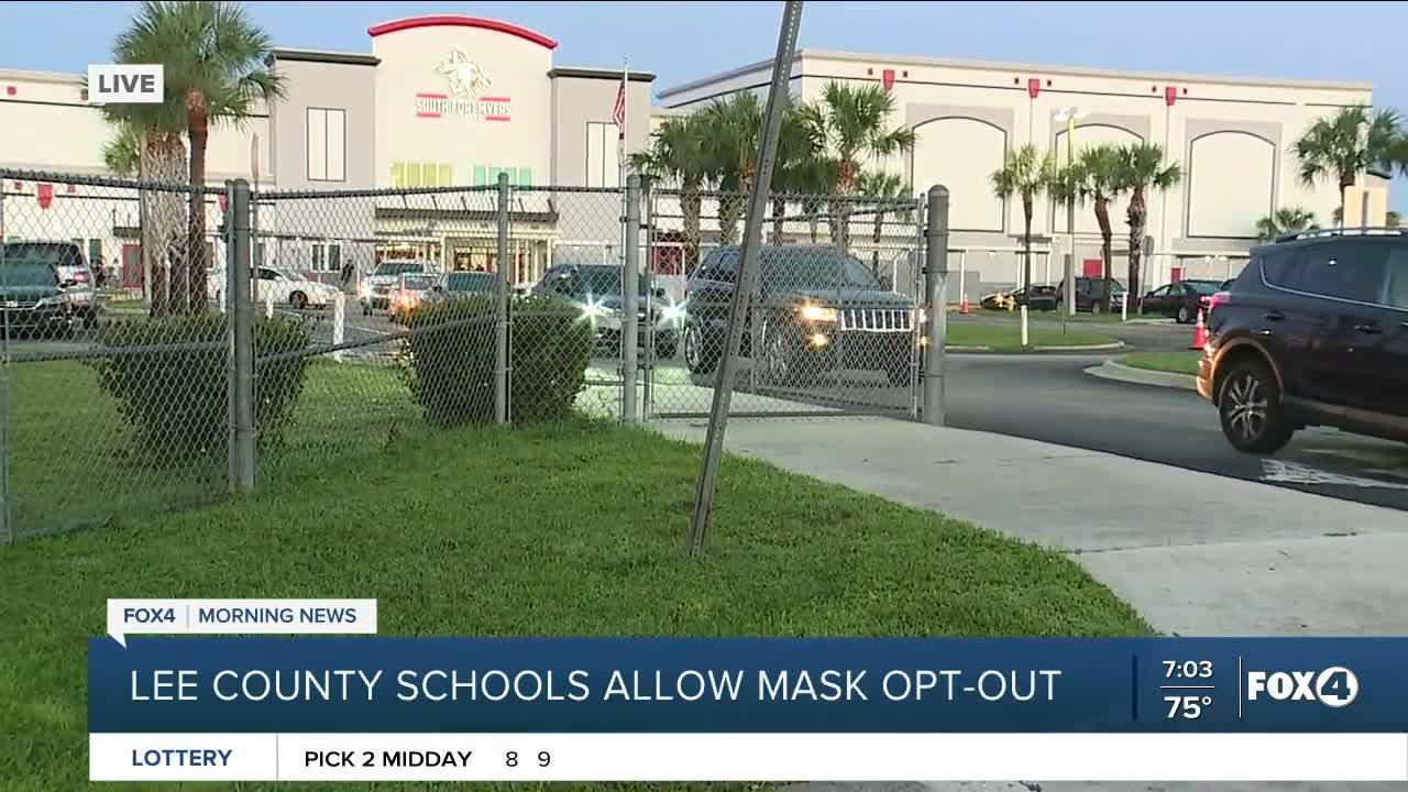 Lee County Schools allow mask opt-out