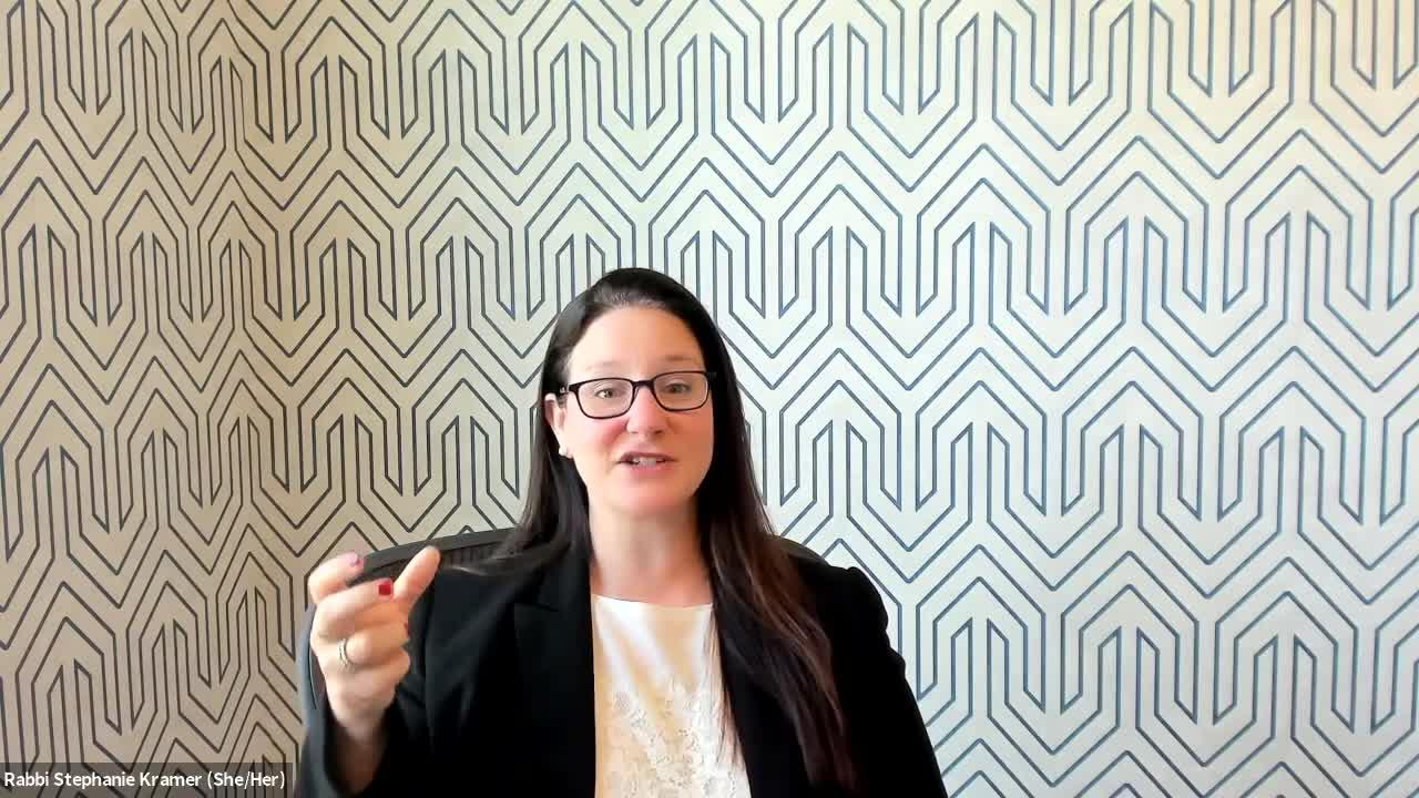 Faith in KC: Discussing Jewish High Holy Days with Rabbi Stephanie Kramer
