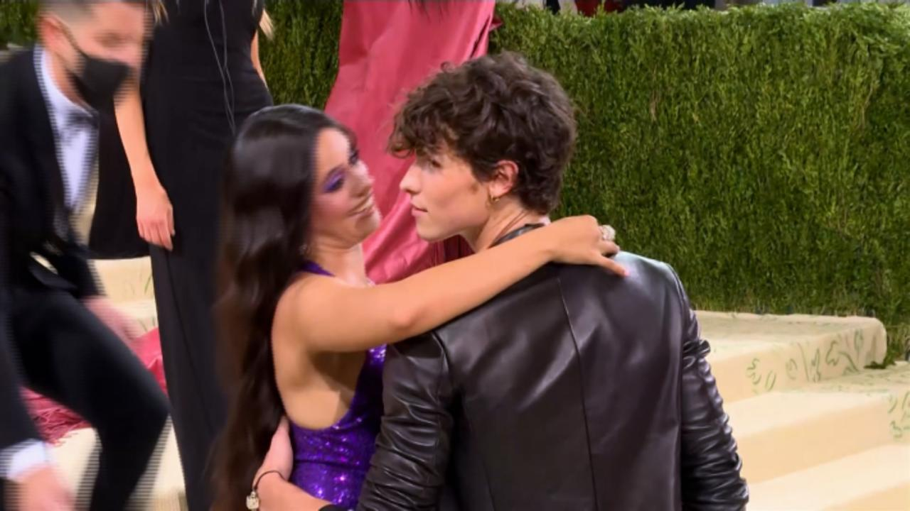 Shawn Mendes, Camila Cabello Turn Heads At The 2021 Met Gala