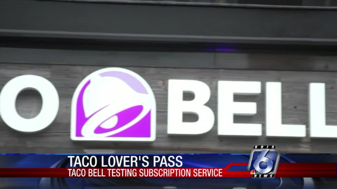Taco Bell is trying a new subscription service for the taco lovers