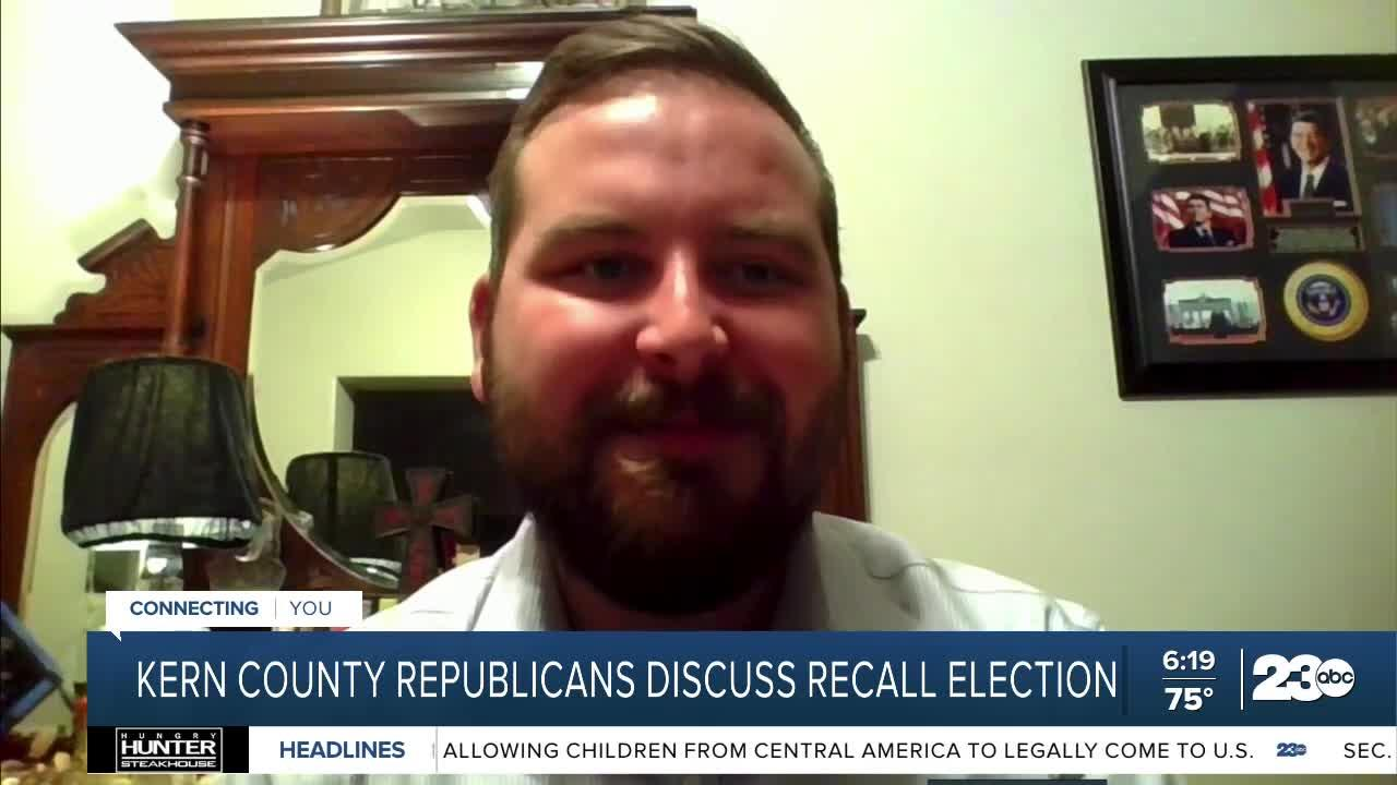 Kern County Republicans discuss recall election