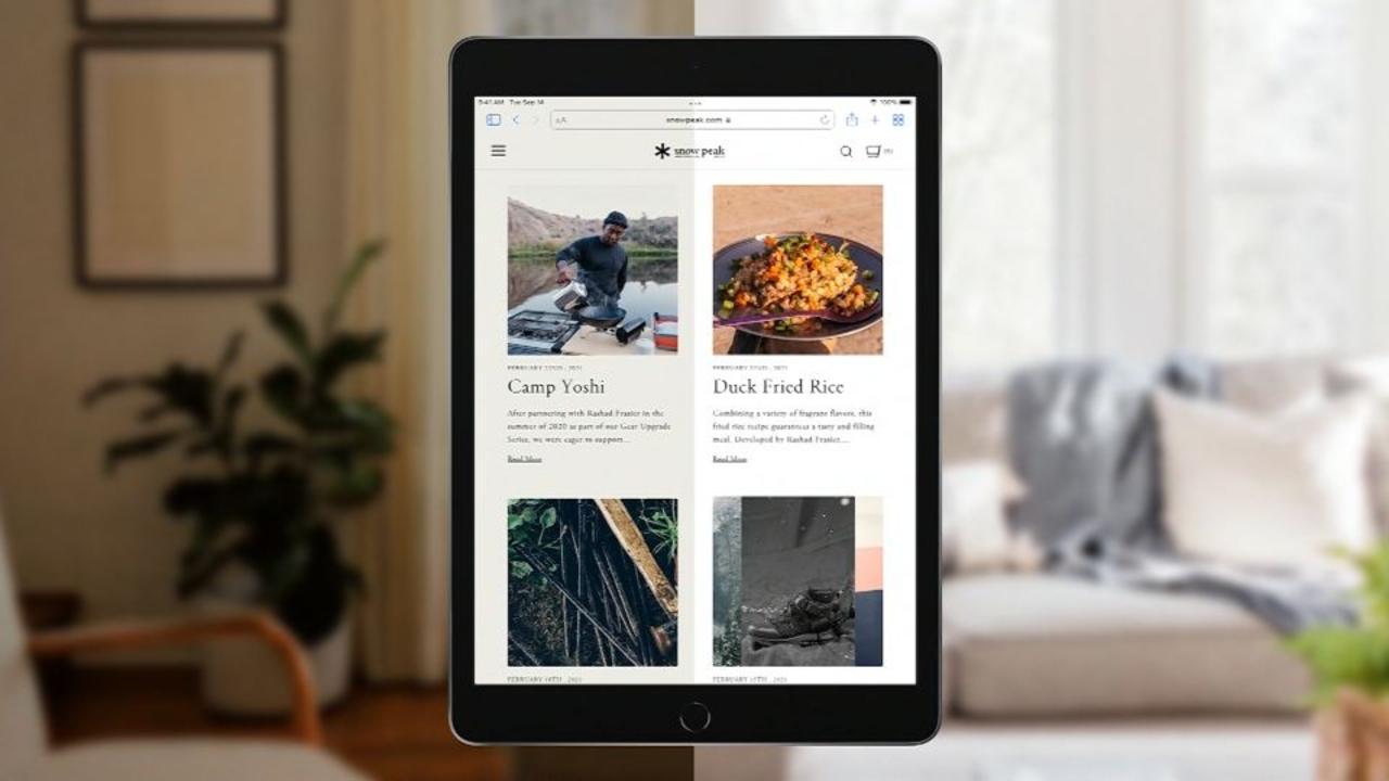 See Apple's new iPad