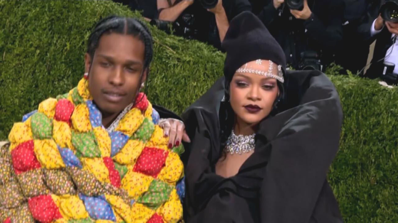 Rihanna And ASAP Rocky Make Met Gala Debut