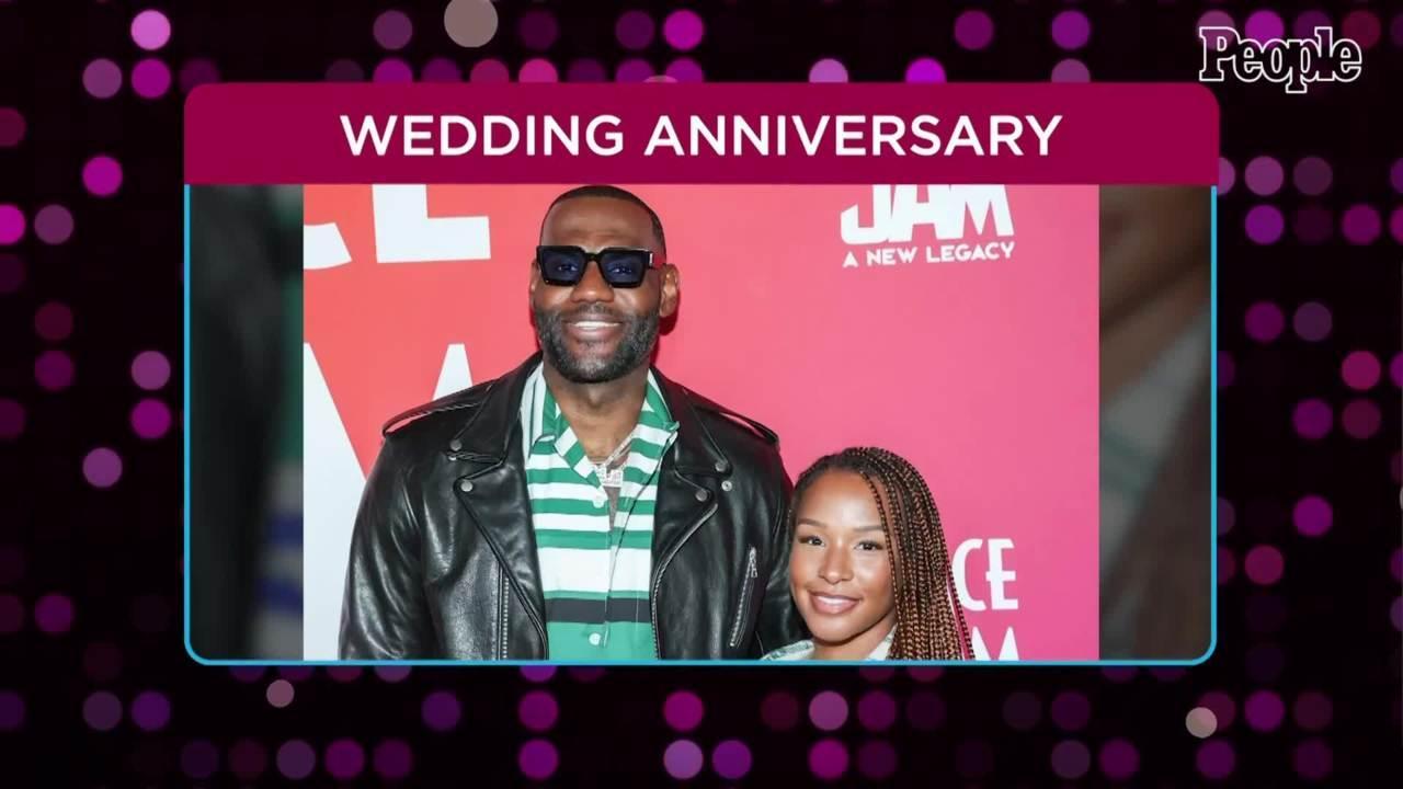 LeBron James Celebrates 'Queen' Savannah on Couple's 8th Wedding Anniversary