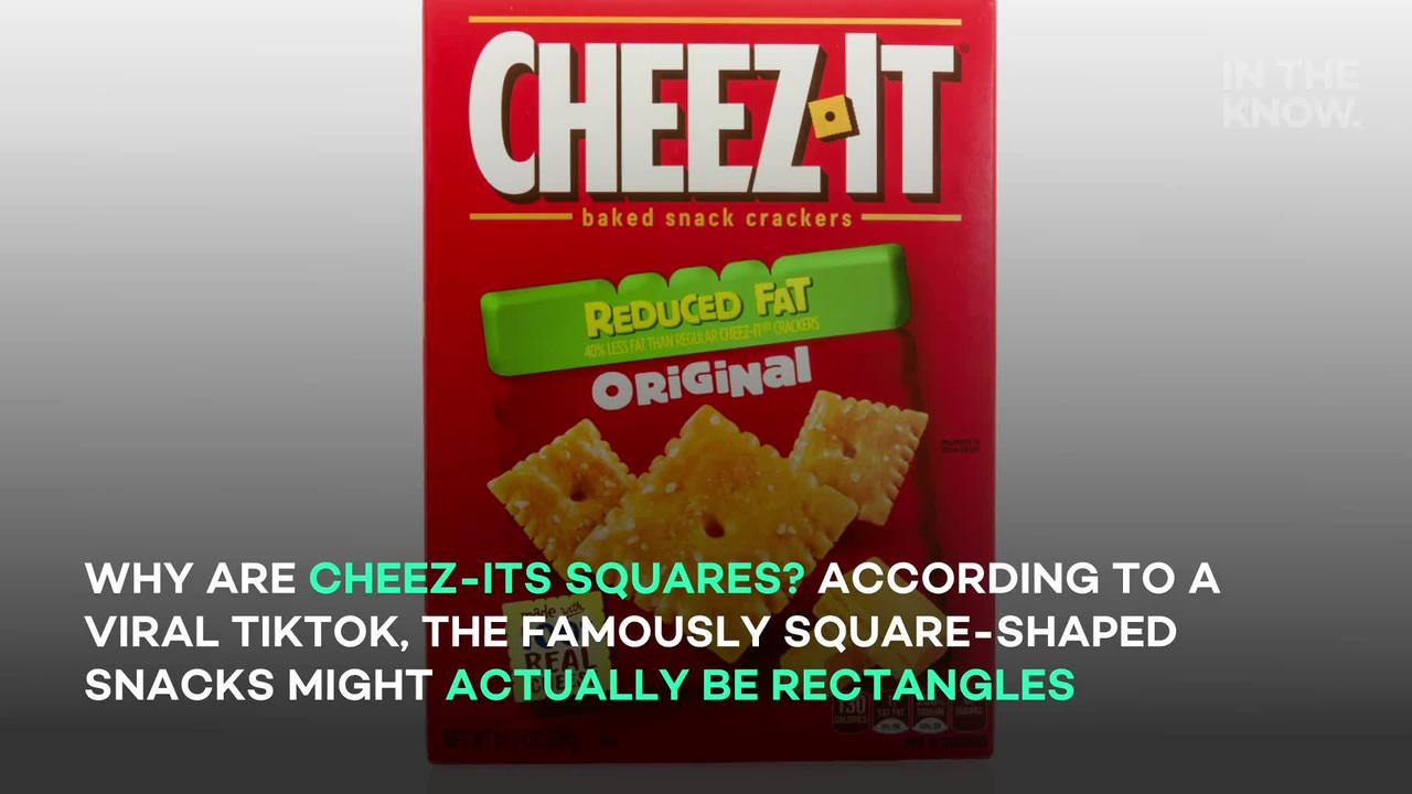 TikTokers dumbfounded after discovering an alleged 'secret' about Cheez-It crackers