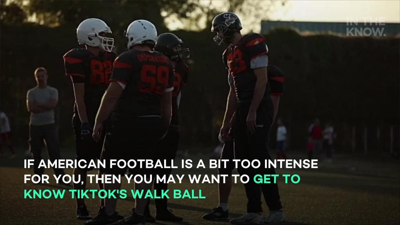 What is walk ball? Here's how to play TikTok's new favorite sport