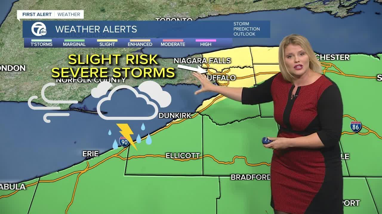 7 First Alert Forecast 5 p.m. Update, Tuesday, September 14