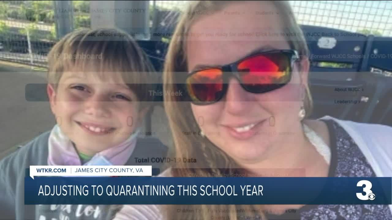 WJCC parents adjust to quarantine after hundreds of COVID-19 exposures in first weeks of school