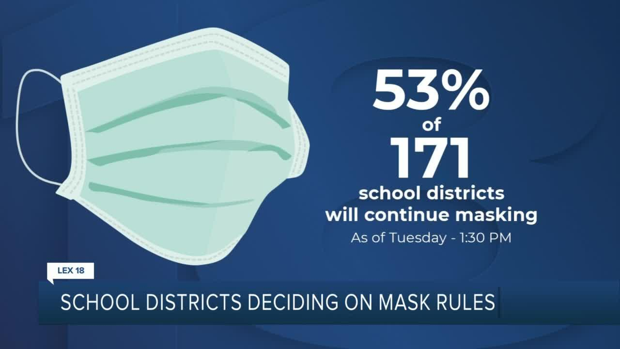 School districts deciding on mask rules