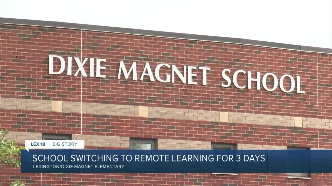School switching to remote learning for 3 days