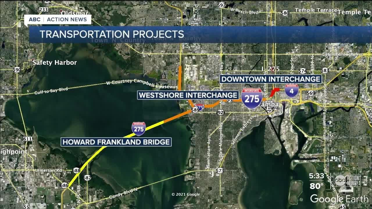 Three major construction projects in Tampa Bay explained