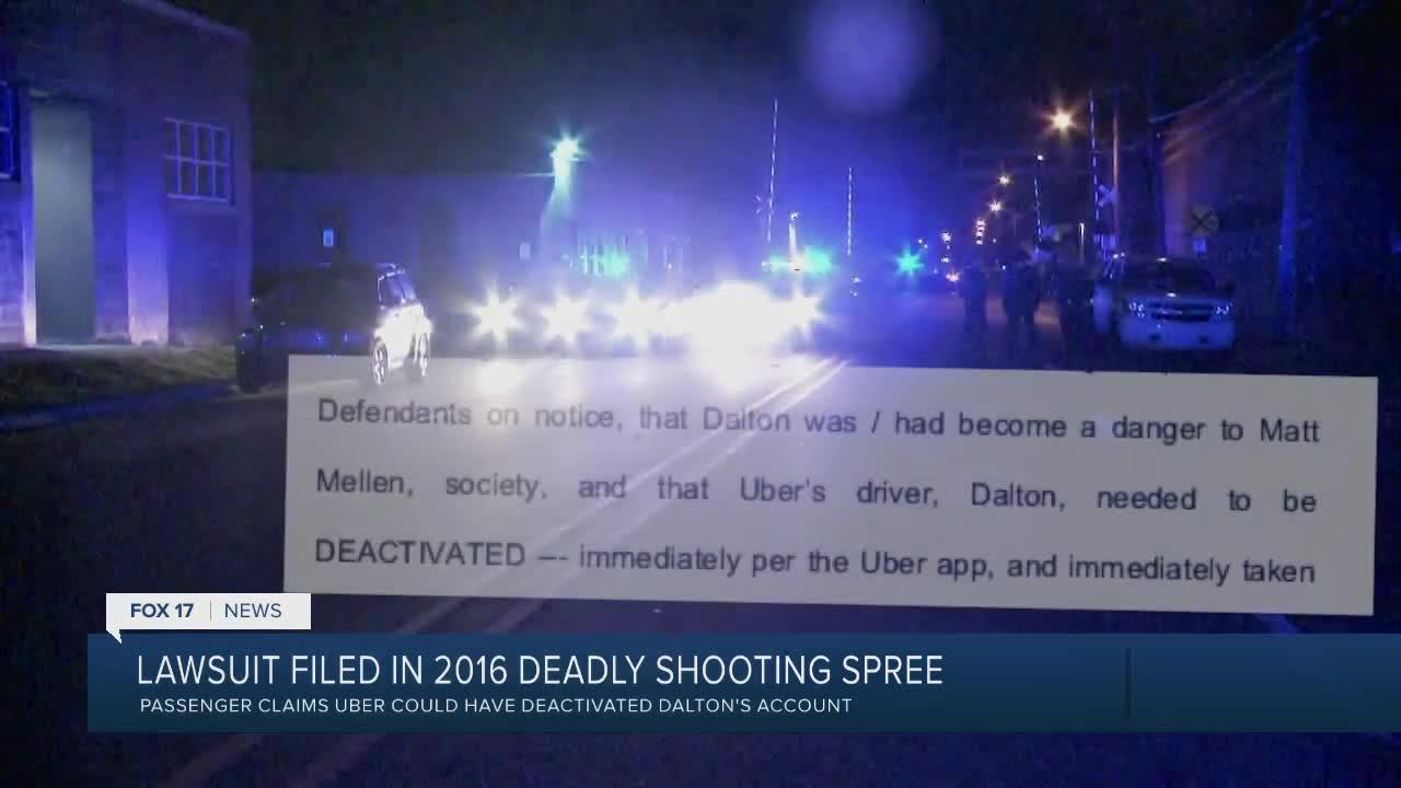 Lawsuit Filed in 2016 Kzoo Uber Shooting