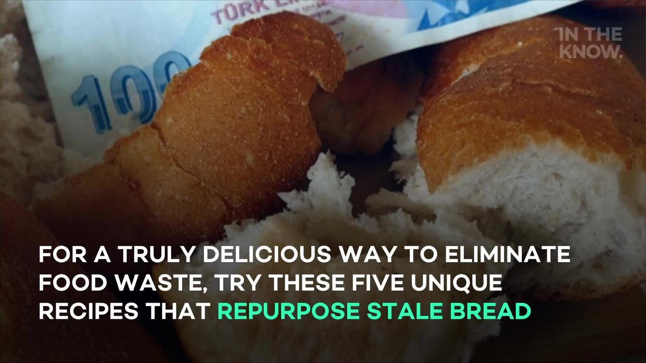 5 unique recipes that repurpose stale bread